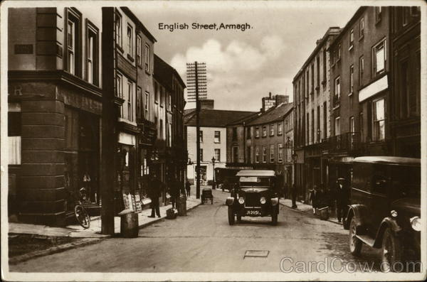English Street Armagh Northern Ireland