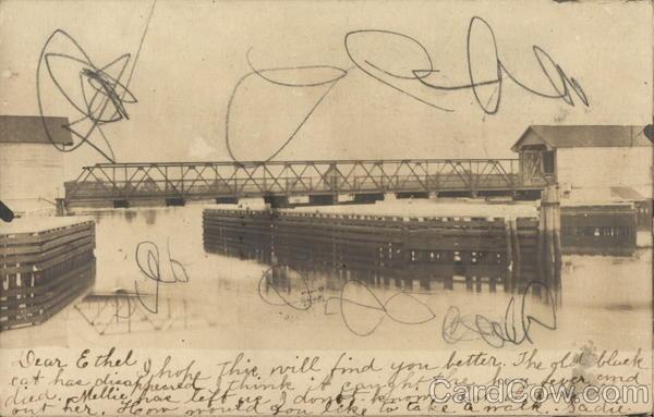 Railroad Bridge Riverside New Jersey