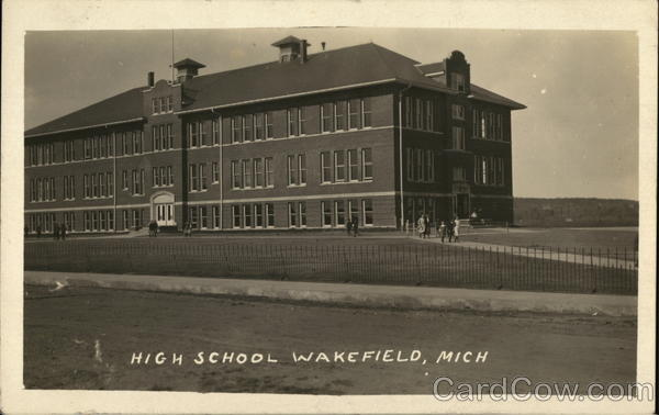 High School Wakefield Michigan