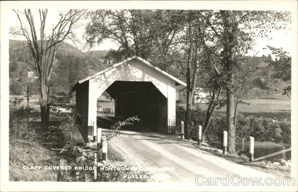 Clapp Covered Bridge Montgomery Vermont