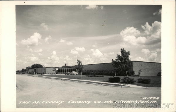 McCleery-Cumming Company Washington Iowa
