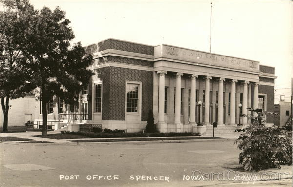 Post Office Spencer Iowa