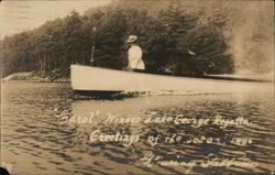 """Carol"", Winner of Lake George Regatta, 1906"