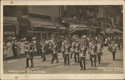 Chanler Drum Corps, Ossining Parade, June 17, 1908