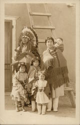 Indian Chief and Family