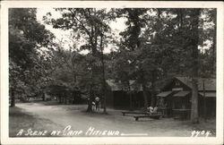 A Scene at Camp Mitiewa