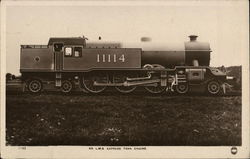 L.M.S. Express Tank Engine Postcard