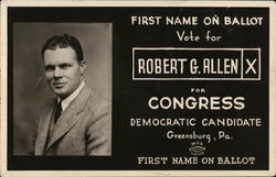 Robert G. Allen for Congress