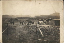 View of the Brown Ranch in the Arizona Territory