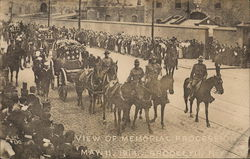 View of Memorial Procession, May 11, 1914