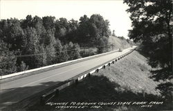 Highway to Brown County State Park