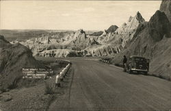 Fine Roads Through the Colorful Badlands