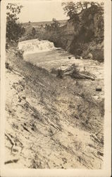 View of Rapids in River Postcard