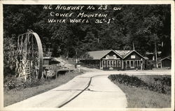 Clark's Place and Water Wheel - Cowee Mountain