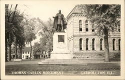 Thomas Carlin Monument
