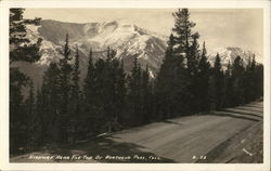 Highway near Top of Berthoud Pass