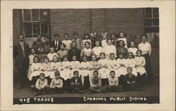 Sandoval Public School, 4 and 5 Grades. Class Photo