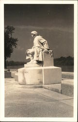 Statue of Colonel Francis Vigo Postcard