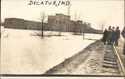 The Great Flood in Decatur, Ind. 1913