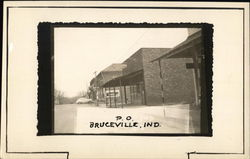 Bruceville, Ind., Post Office