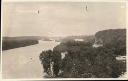 Scenic View of the Rock River, 1918