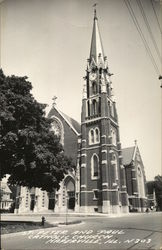 St. Peter and Paul Catholic Church Postcard
