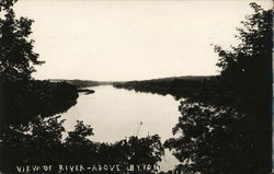 View of River Above Byron