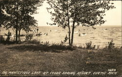 Big Manistique Lake at Cedar Spring Resort