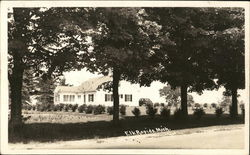 Residential Home Postcard