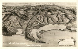 Aerial View of San Diego and San Diego Bay