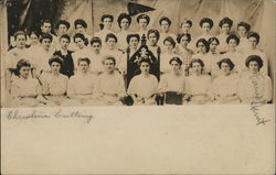 Women of the Eromathean Society, 1909