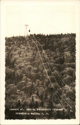 Cannon Mountain, Aerial Passenger Tramway Postcard
