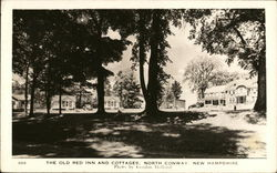 The Old Red Inn and Cottages Postcard