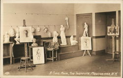 The Institute - Class Room Postcard