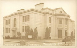 Institute of Arts and Sciences Postcard
