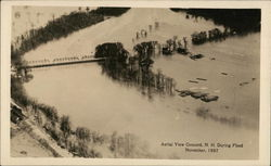 Aerial View During Flood, November, 1927
