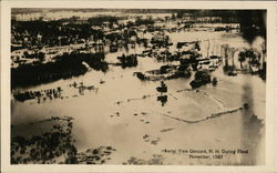 Aerial View of Flood - November, 1927
