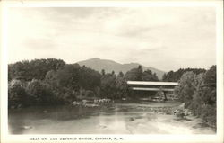 Moat Mountain and Covered Bridge