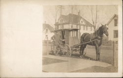 Horse-Drawn Mail Wagon, Mailman