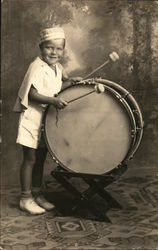 Child with Marching Drum