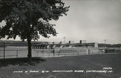 Lock & Dam No.10, Mississippi River