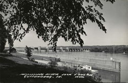 Mississsippi River Lock & Dam #10