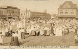 Scene Taken during the May Pole Dance, May 25, 1915