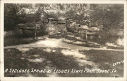Spring at Ledges State Park