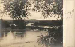 Scenic view of a lake in Sioux Rapids, IA Aug. 19, 1908