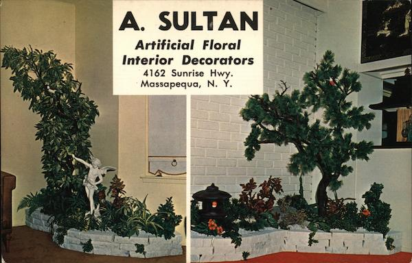 A. Sultan Artificial Floral Interior Decorators Massapequa New York