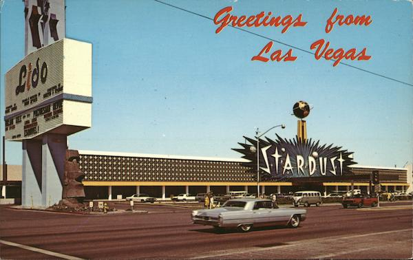 The Stardust - On the Strip Las Vegas Nevada