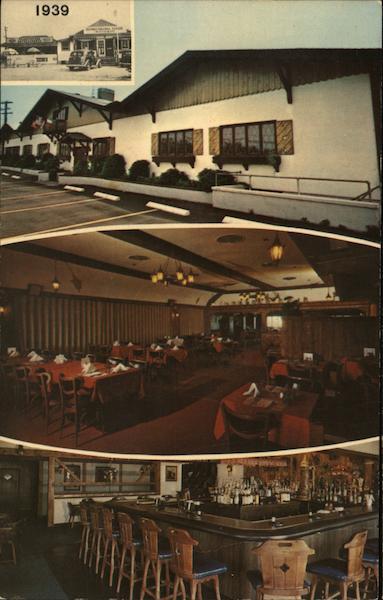 Bavarian Inn Lake Ronkonkoma, NY Postcard
