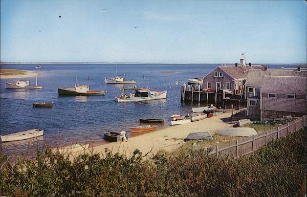 Chatham Fish Pier Cape Cod Massachusetts