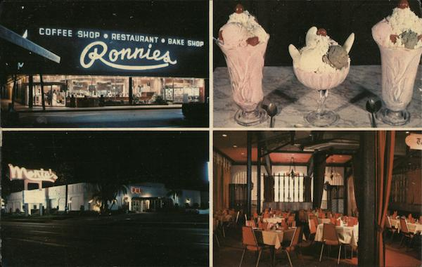 Ronnies, Monte's and Goody's Restaurants Good Things Come in 3s Florida Orlando